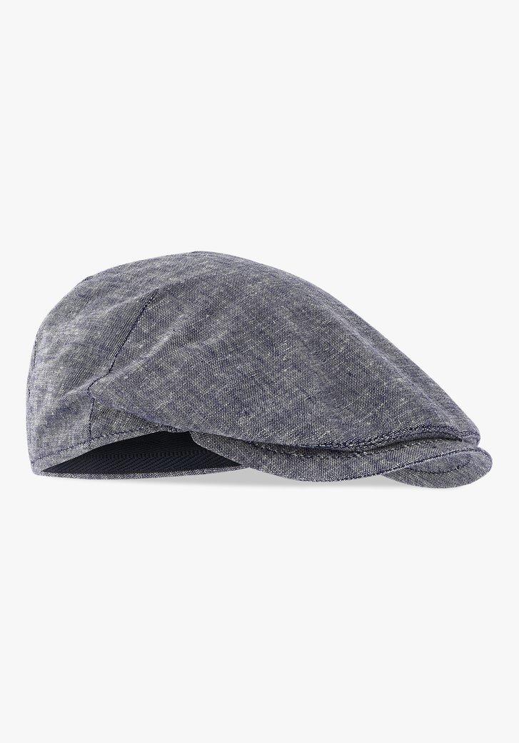 Grijze flat cap