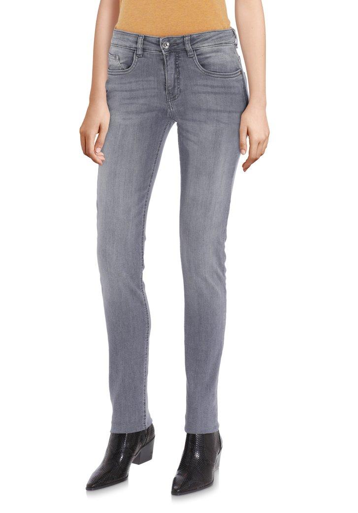 Grijze jeans - Robbie - slim fit - L32