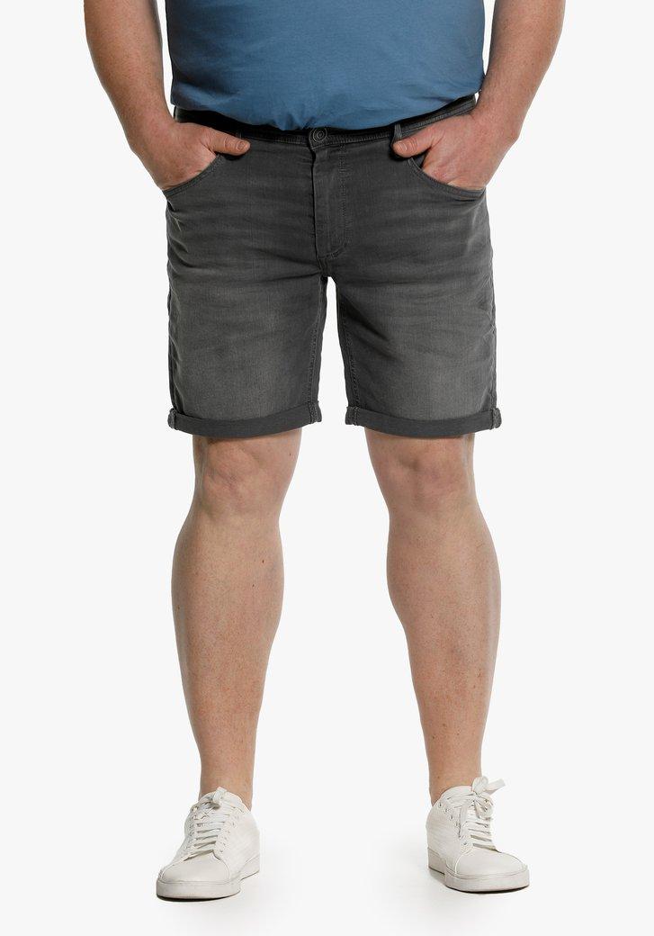 Grijze jeans short