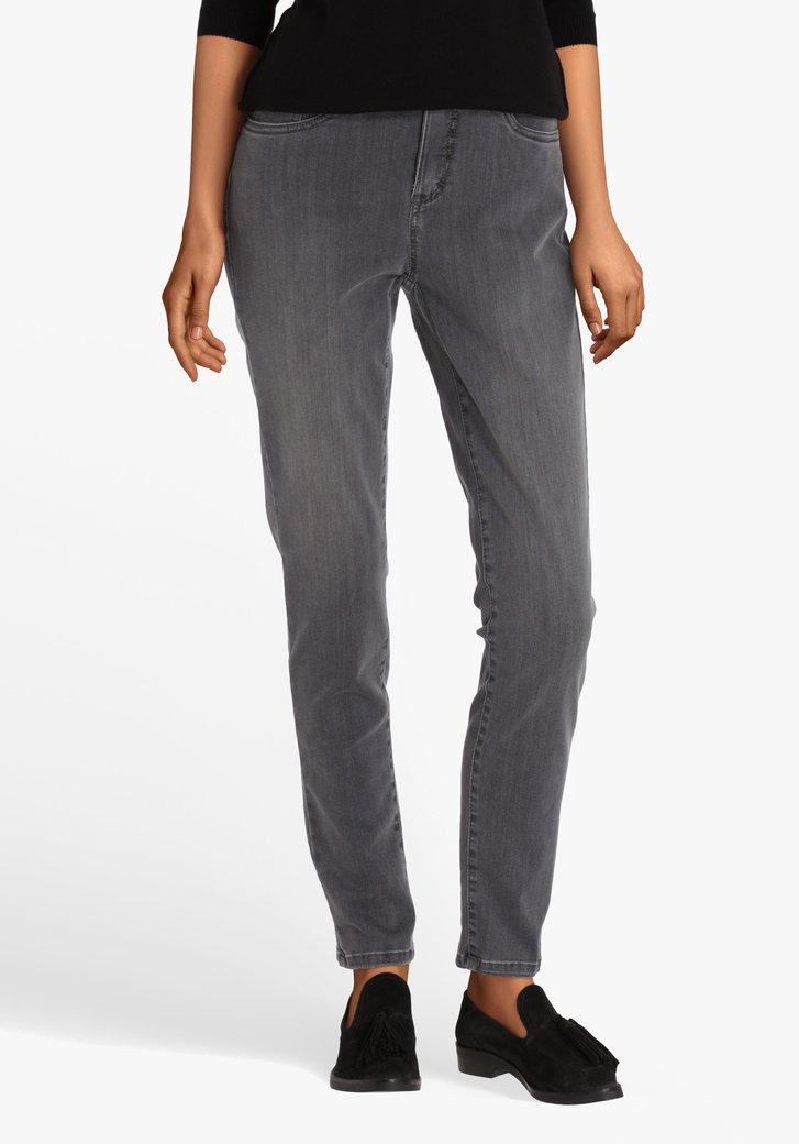 Grijze jeans - skinny fit