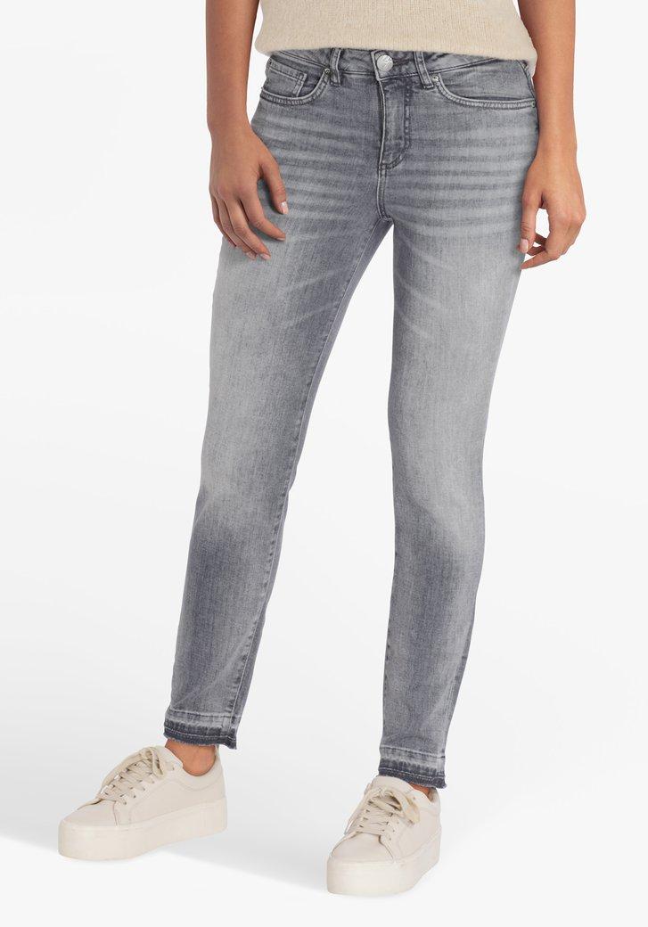 Grijze jeans - slim fit