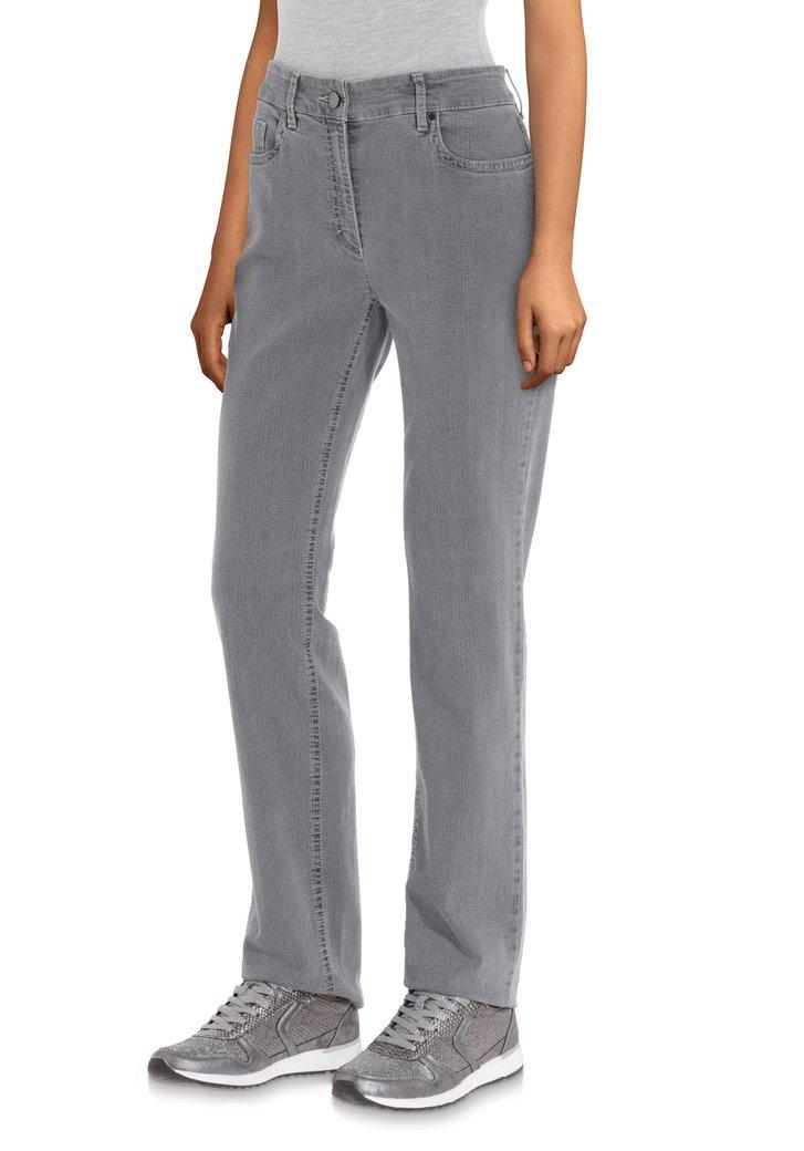 Grijze jeans - straight fit