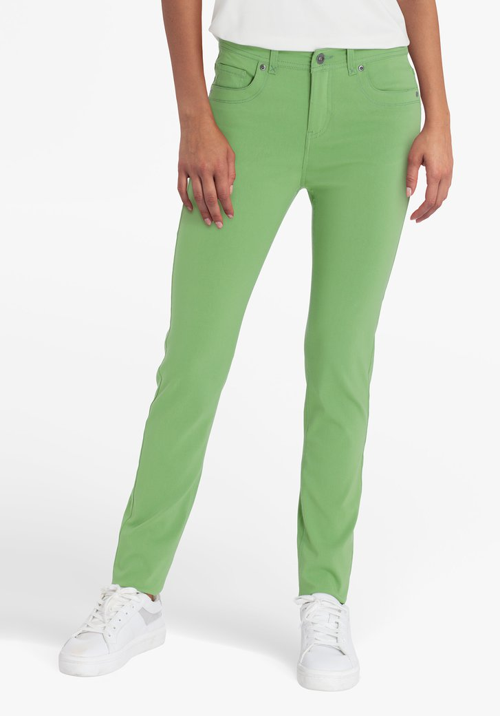 Groene broek - slim fit