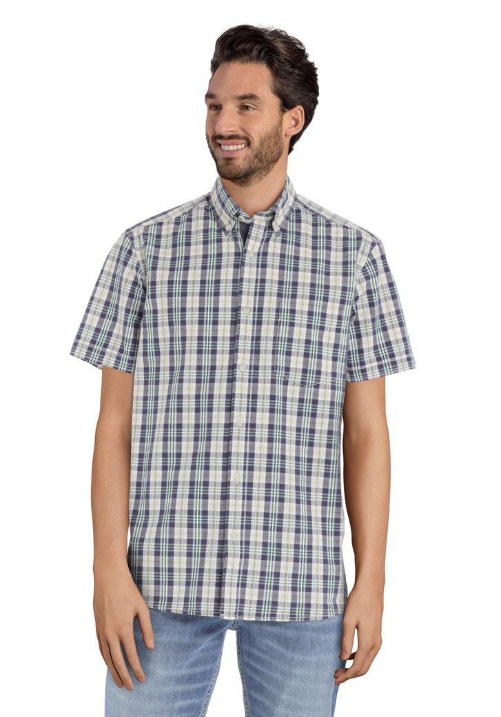 Hemd met kleurrijke ruiten – regular fit