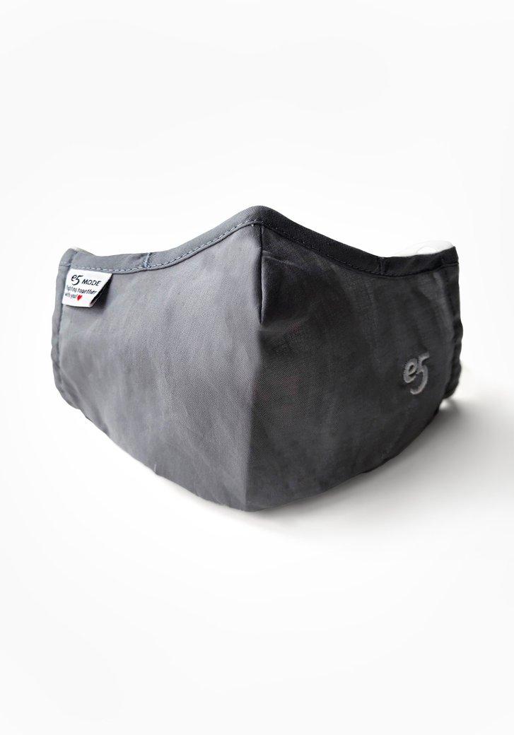 Herbruikbaar stoffen mondmasker - grijs