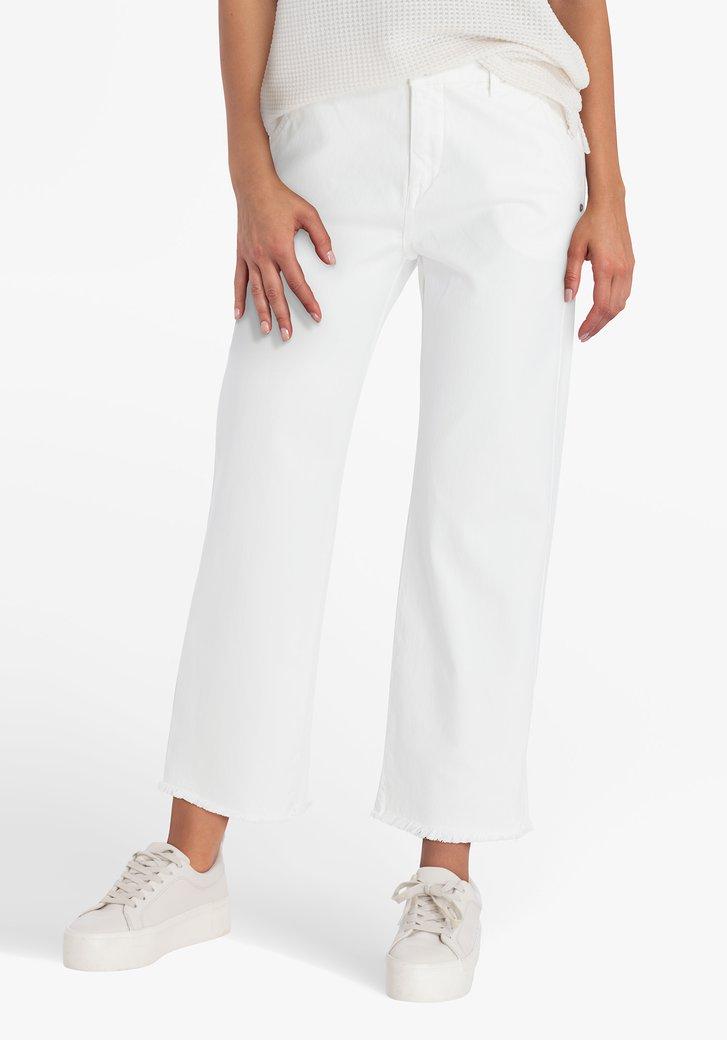 Jean blanc - mom fit