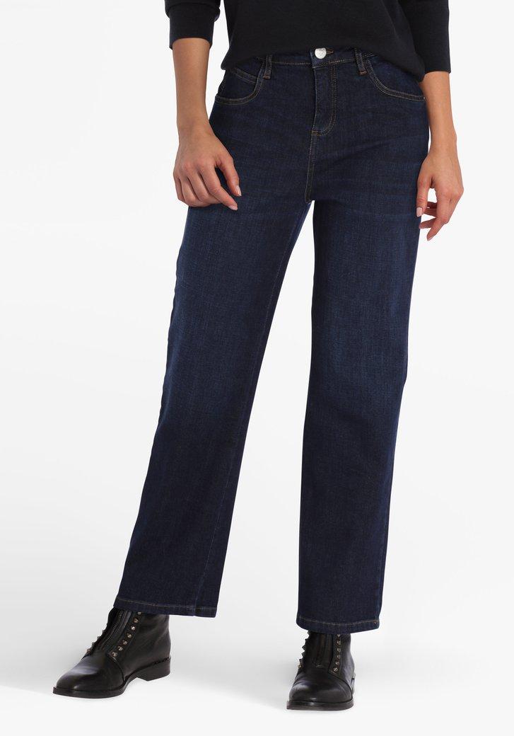 Jean bleu foncé - straight fit