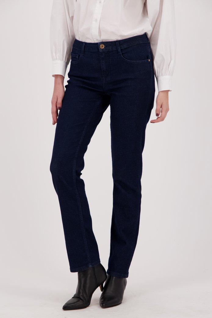 Jean bleu foncé - Tammy - straight fit - L32