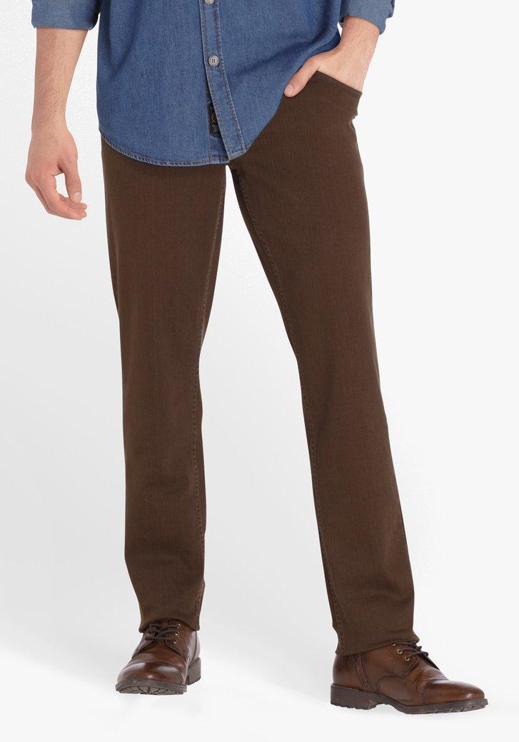 Jean marron - regular fit
