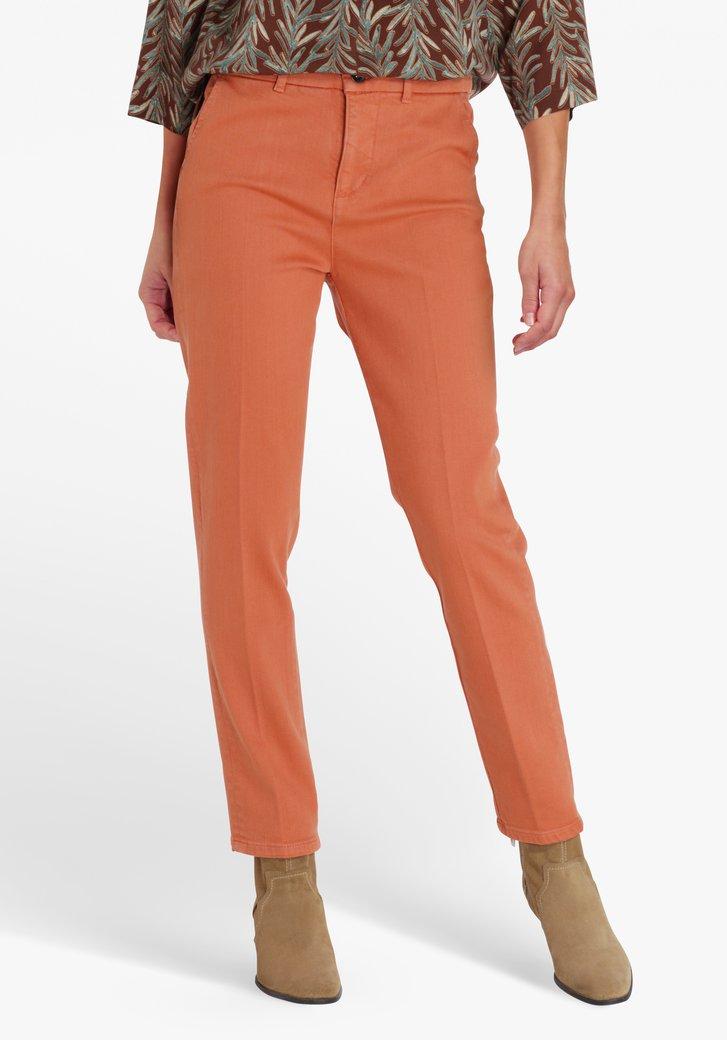 Jean marron - straight fit