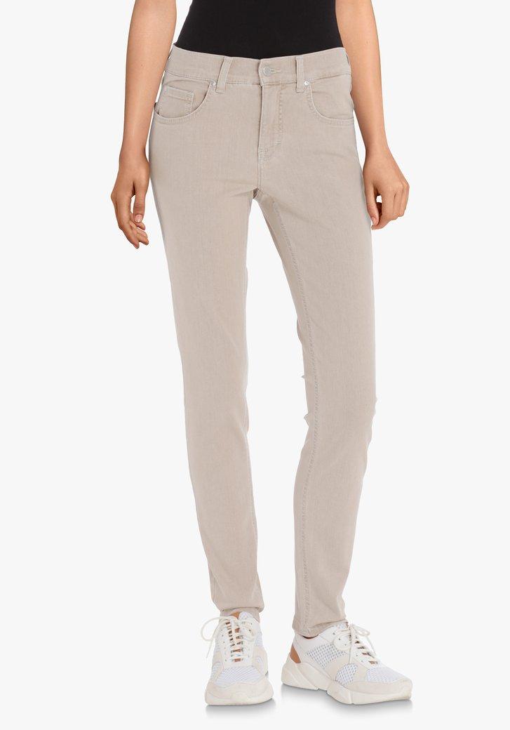 Jeans beige clair – slim fit