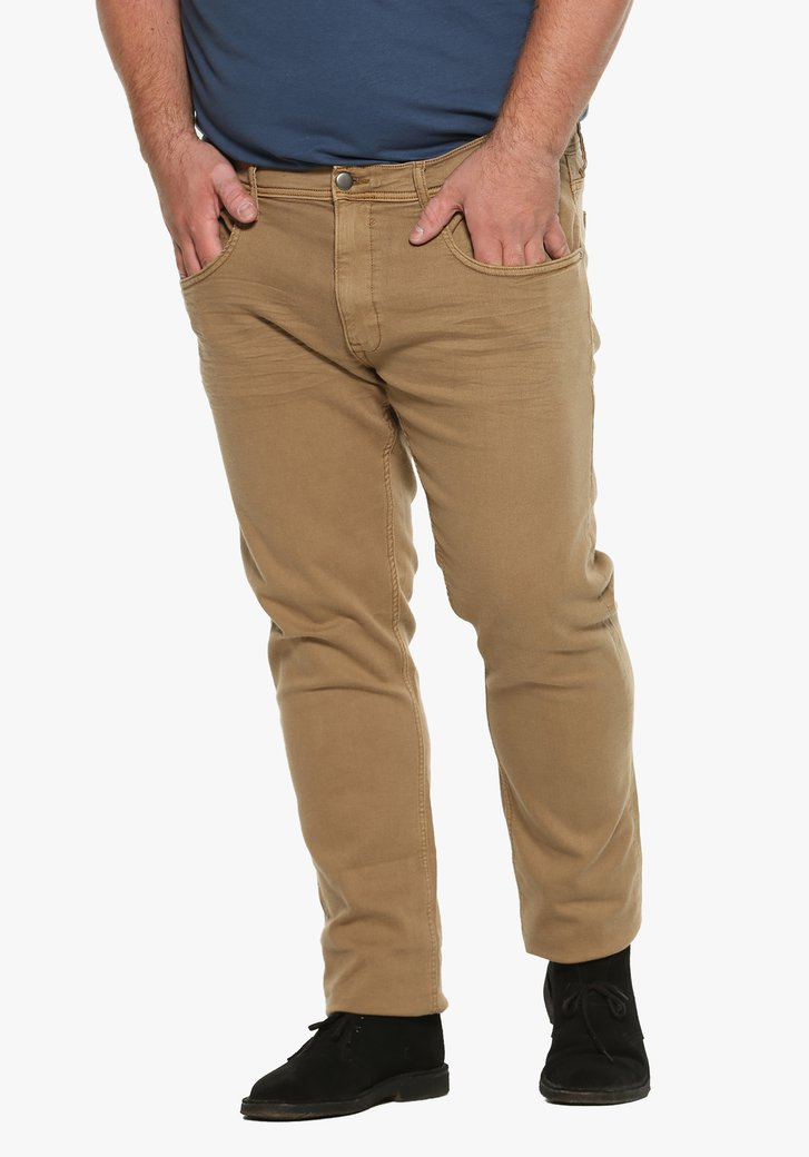 Jeans beige - slim fit