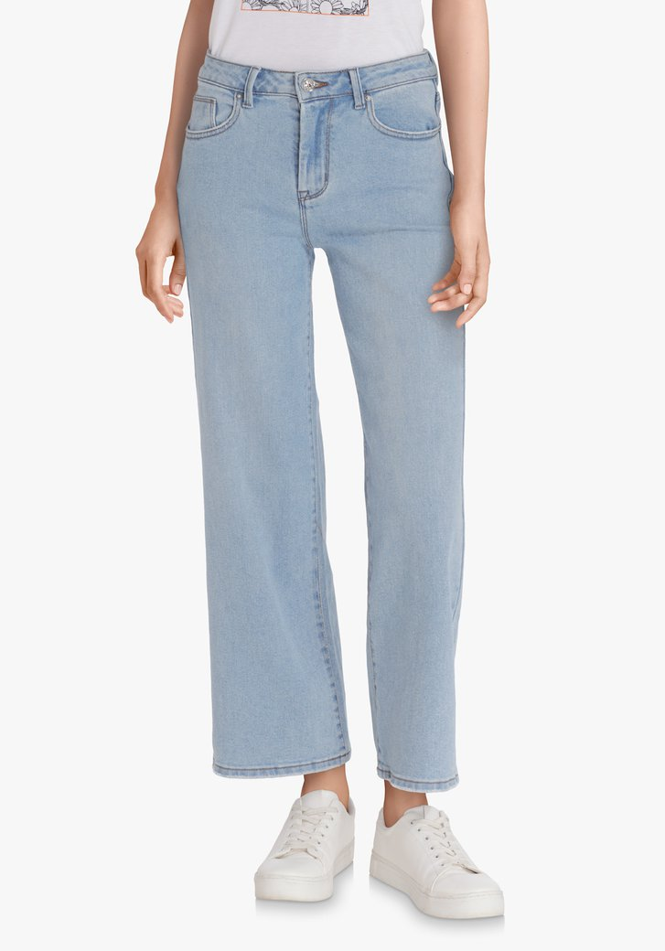 Jeans bleu clair – straight fit