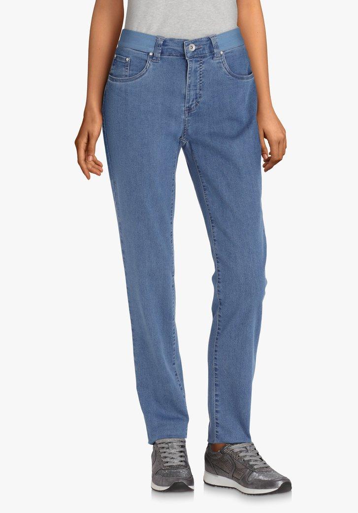 Jeans bleu en tissu extensible – slim fit