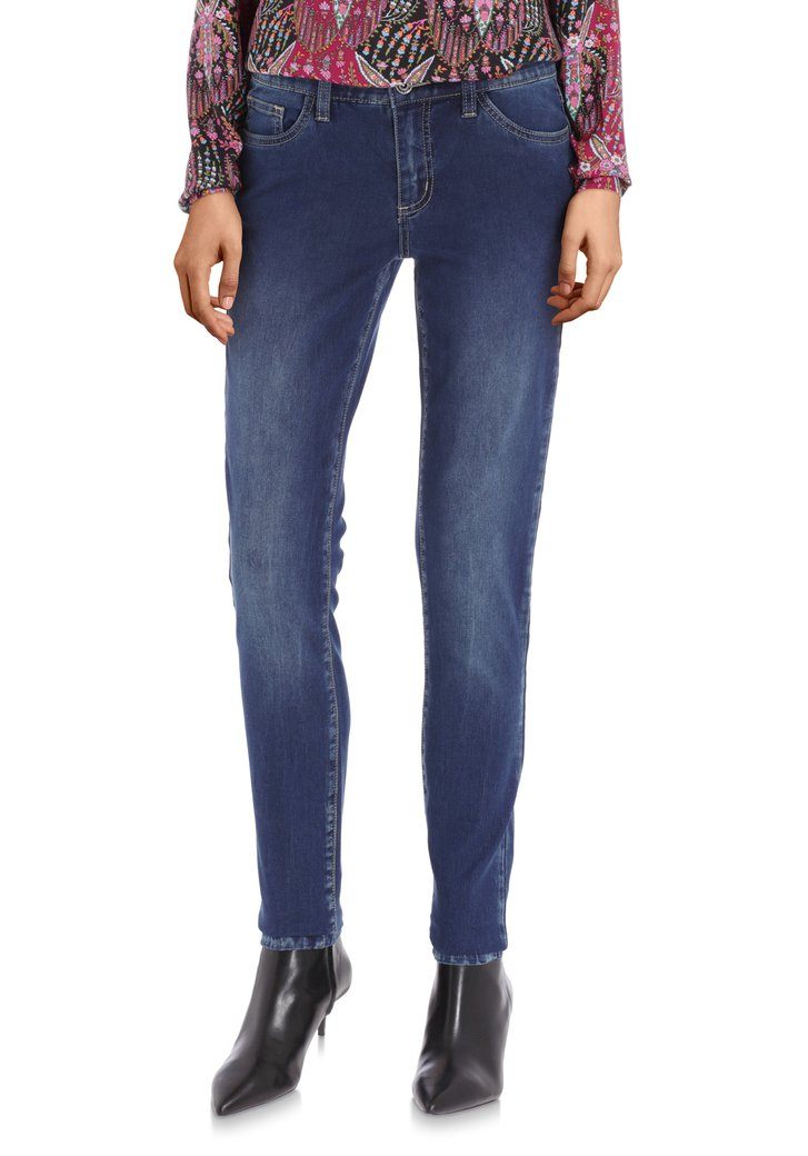 Jeans bleu foncé - slim fit