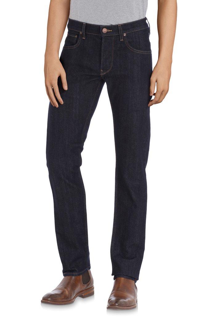 Jeans bleu foncé uni - Daren - Regular fit - L34