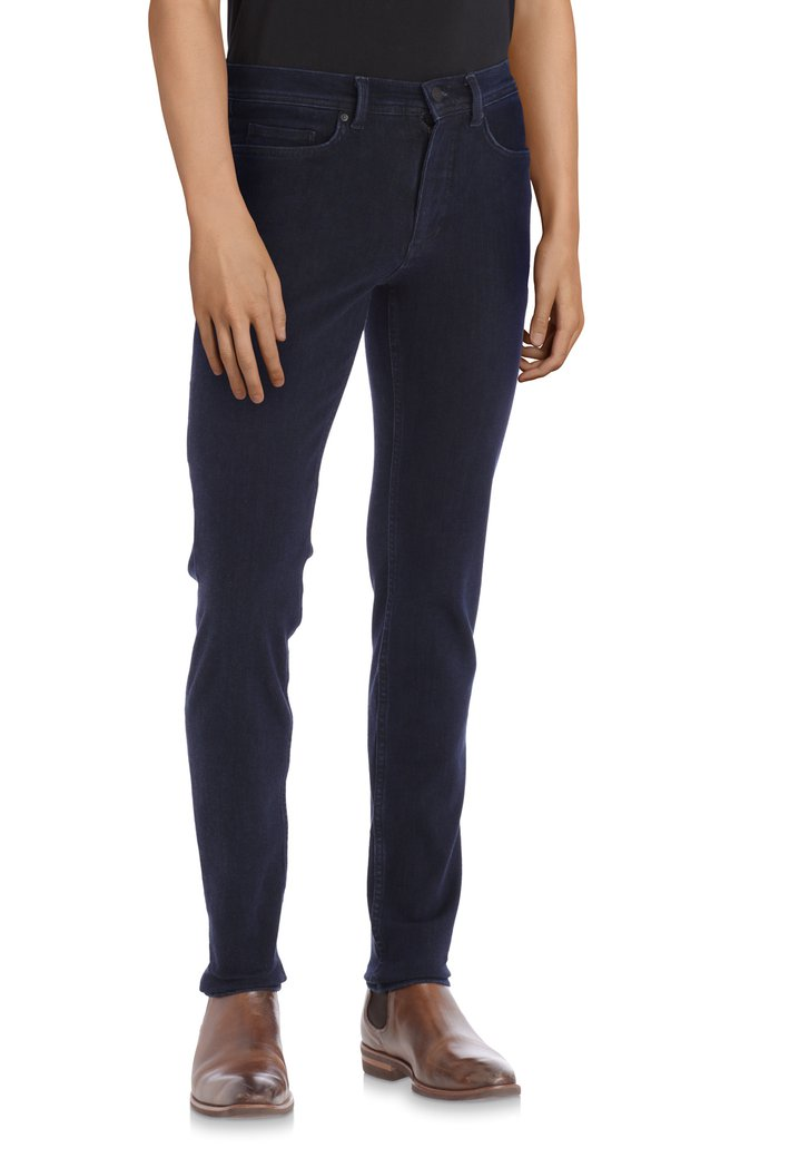 Jeans bleu marine stretch - Lars – slim fit - L32