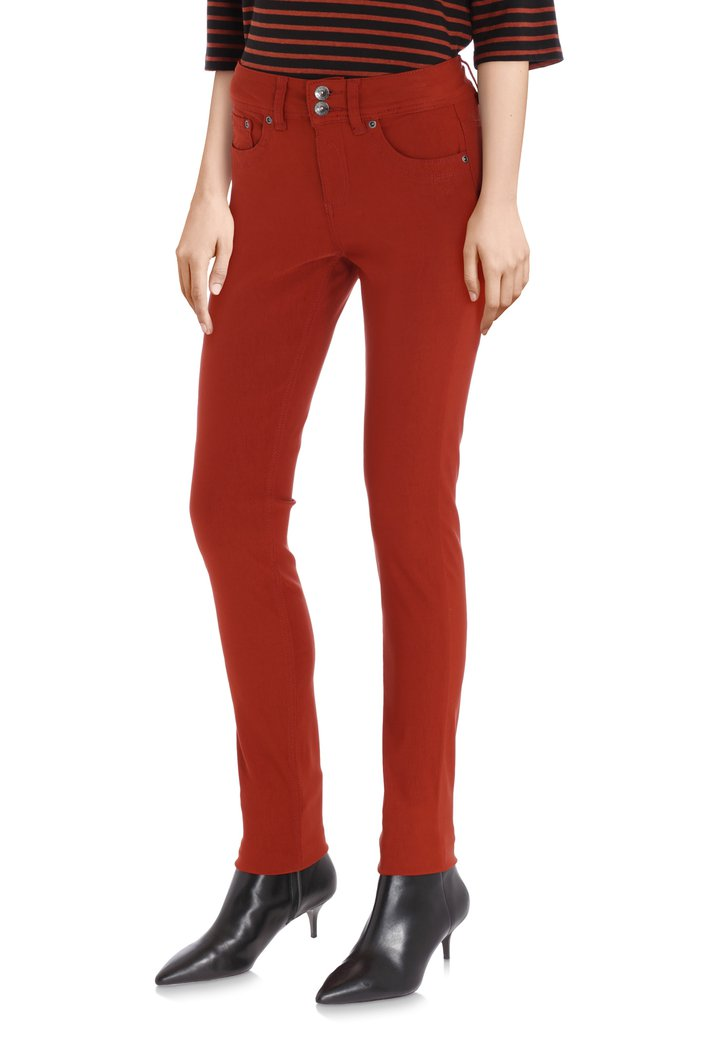 Jeans brun -  slim fit