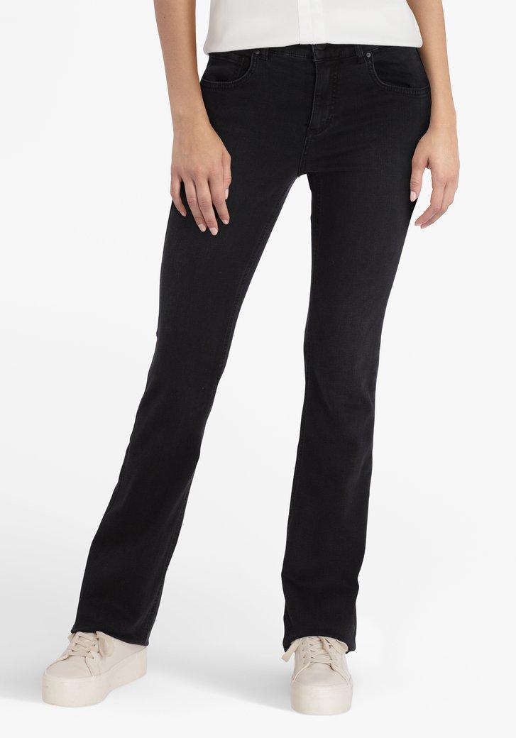 Jeans de couleur anthracite - regular fit