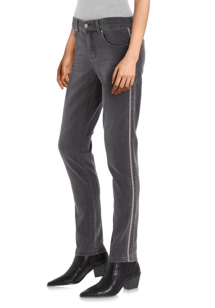 Jeans gris - Skinny fit