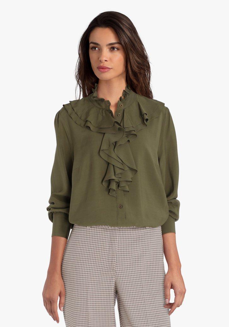 Kaki blouse