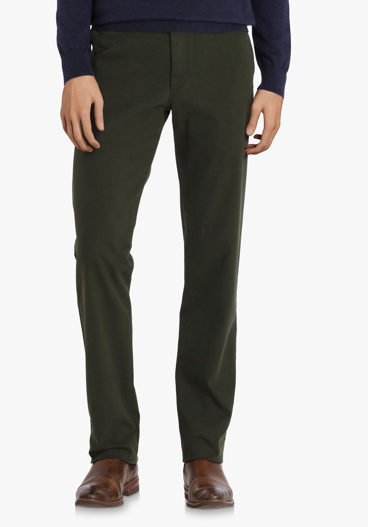 Kaki chino - Dallas - slim fit