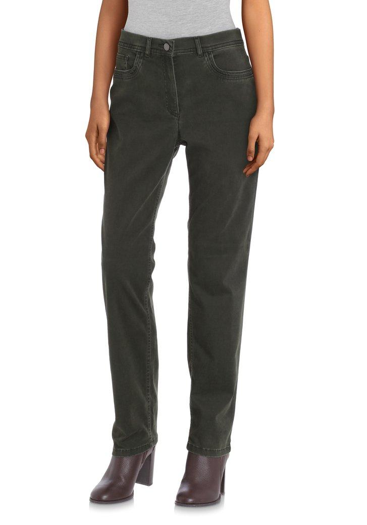 Afbeelding van Kaki jeans - straight fit
