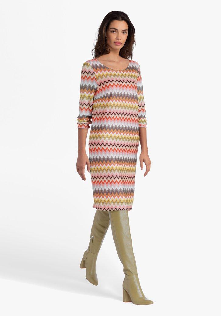 Kleed met print in verschillende kleuren