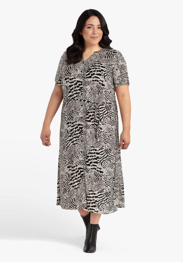 Kleed met zebraprint