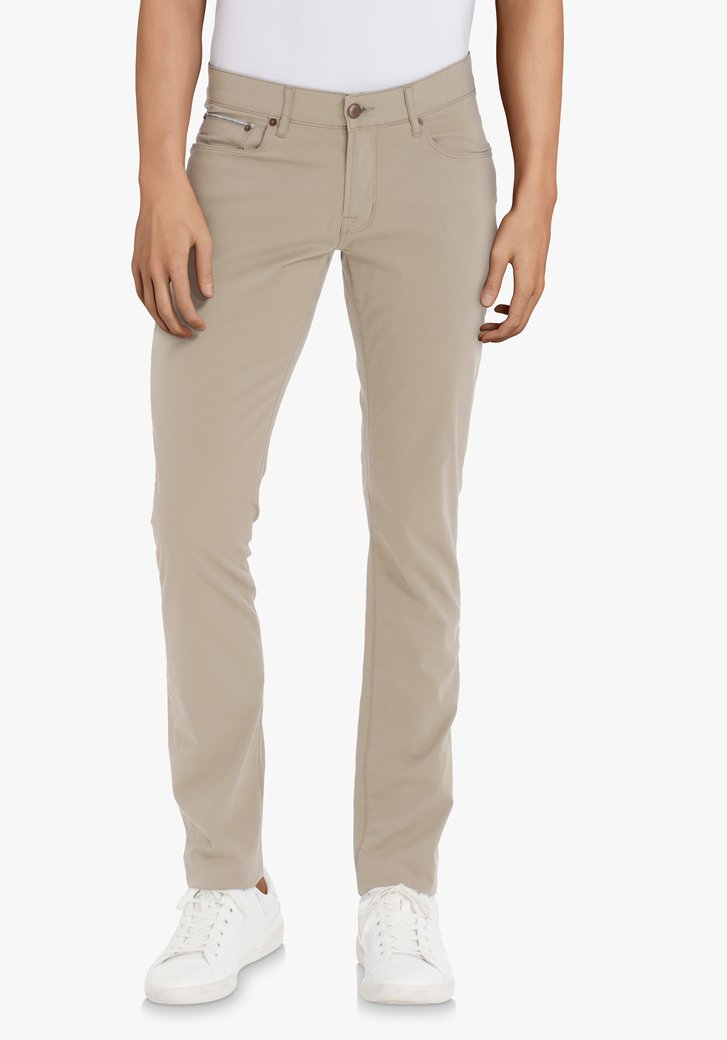 Lichtbeige broek – Jefferson – slim fit