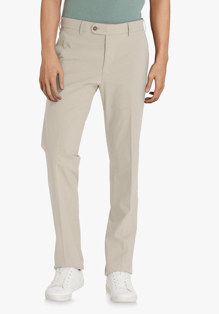Lichtbeige chino – Vancouver – straight fit