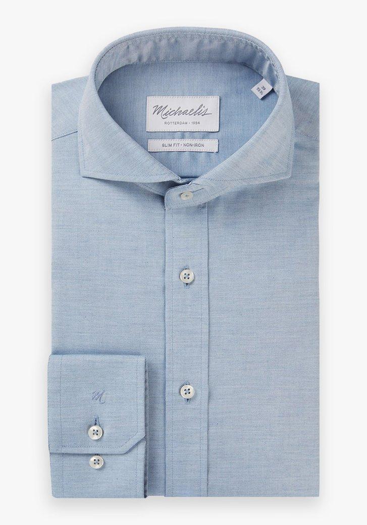 Lichtblauw hemd - slim fit