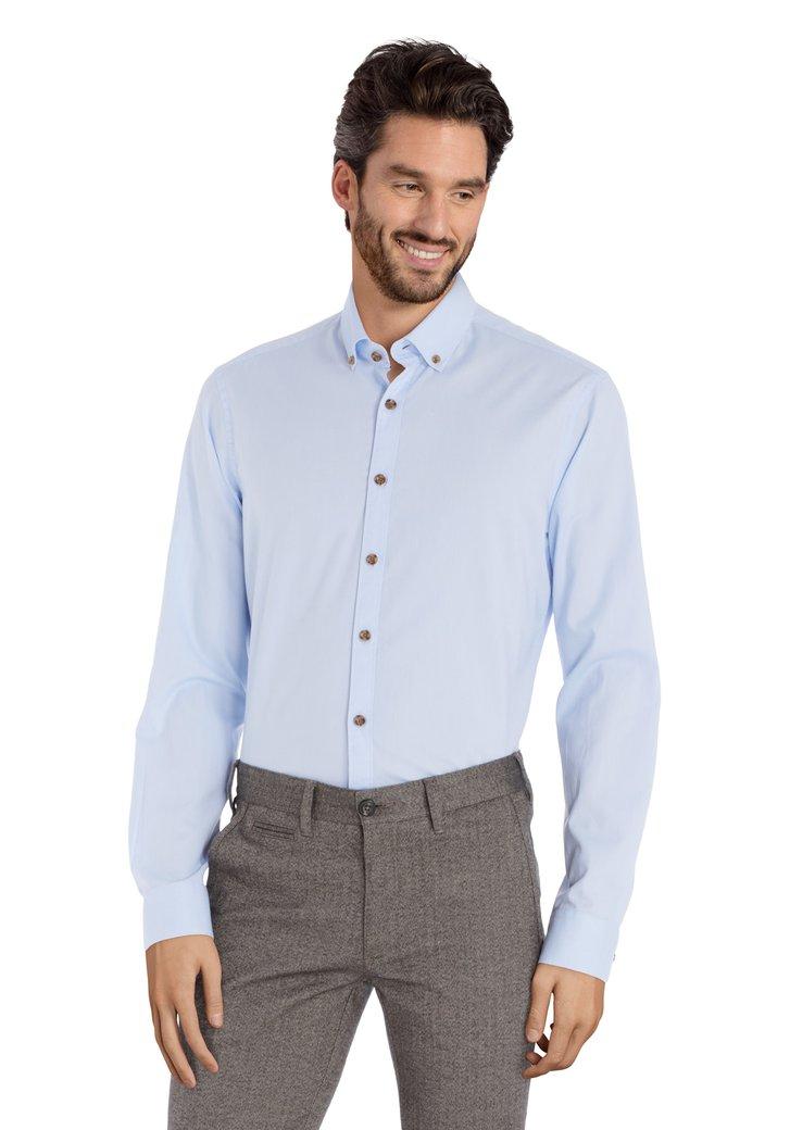 Afbeelding van Lichtblauw hemd - slim fit