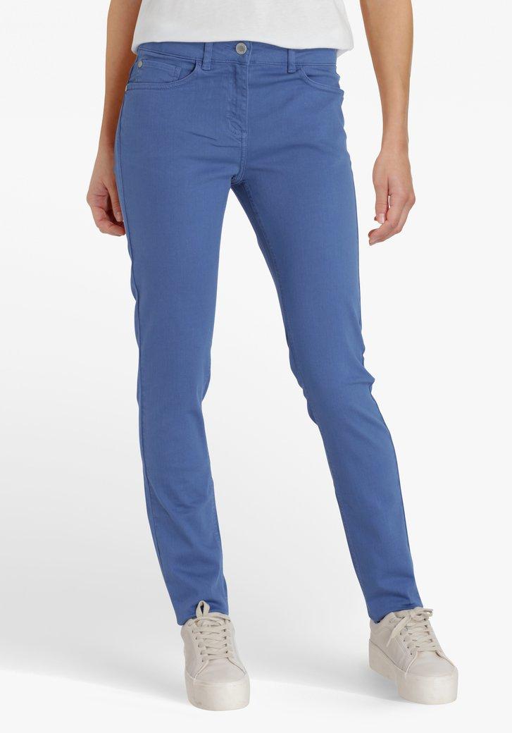 Lichtblauwe broek – slim fit