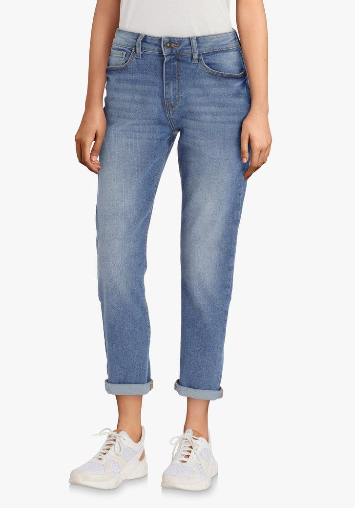 Lichtblauwe jeans – slim fit
