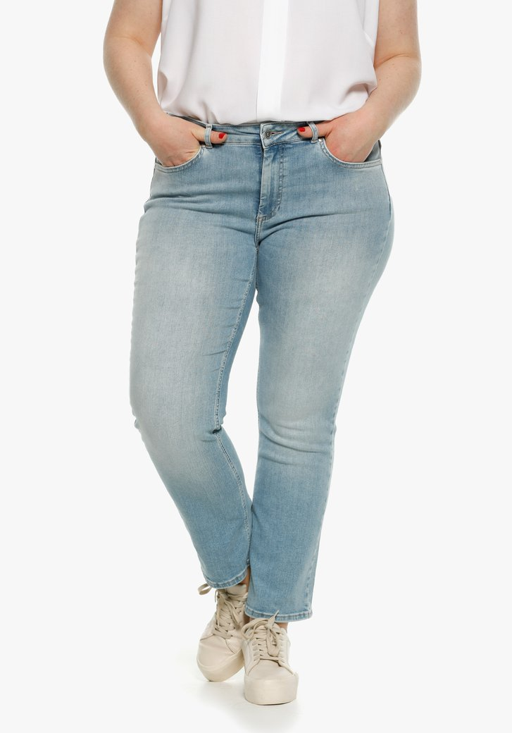 Lichtblauwe jeans - regular fit