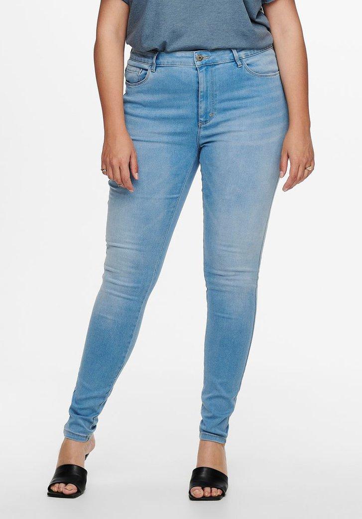 Lichtblauwe jeans - skinny jeans