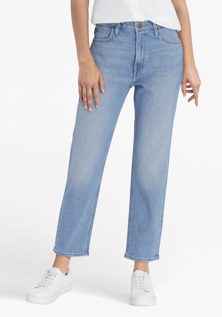 Lichtblauwe jeans - straight fit - L33
