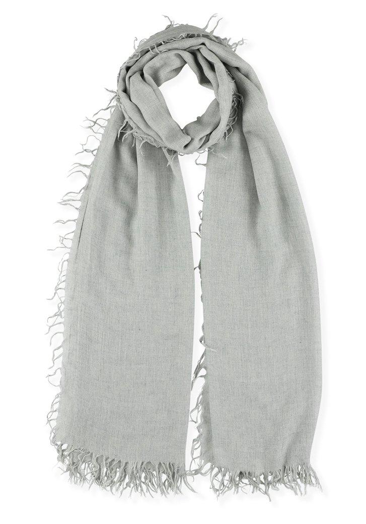 Lichtgrijze foulard