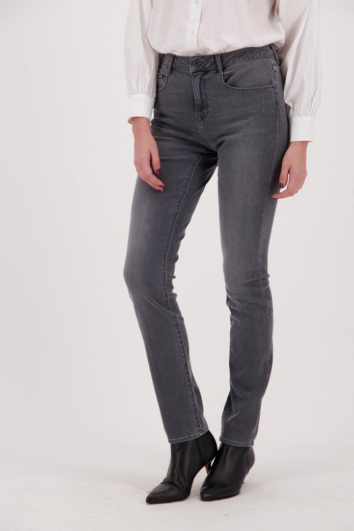 Lichtgrijze jeans - Lily - slim fit - L32