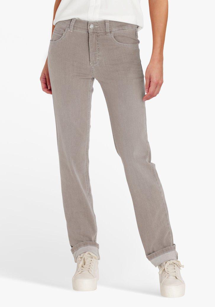 Lichtgrijze jeans - regular fit