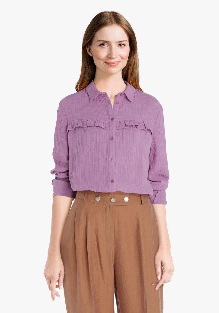 Lila blouse