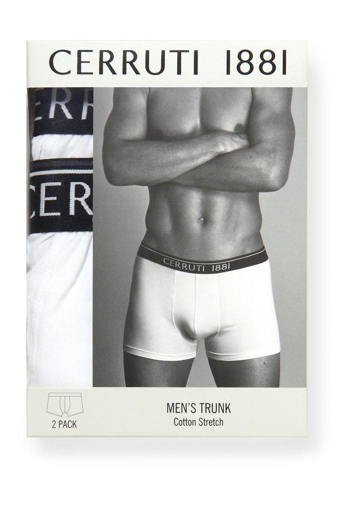 Lot de 2 boxers pour homme - blanc