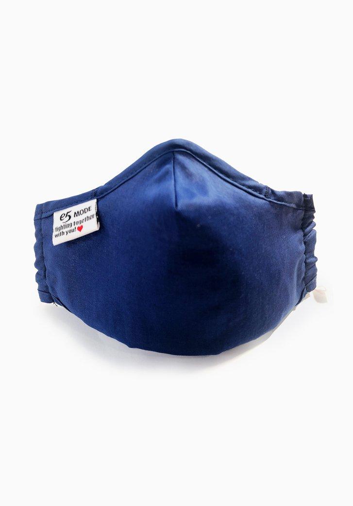 Masque buccal en tissu - enfants - bleu