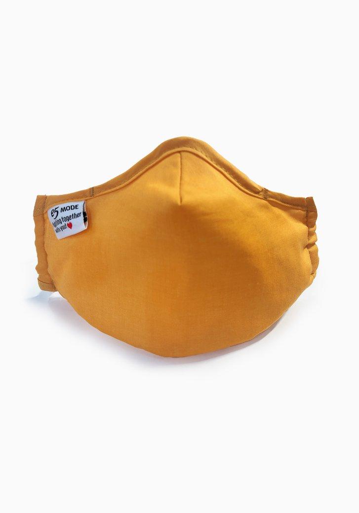 Masque buccal en tissu - enfants - ocre