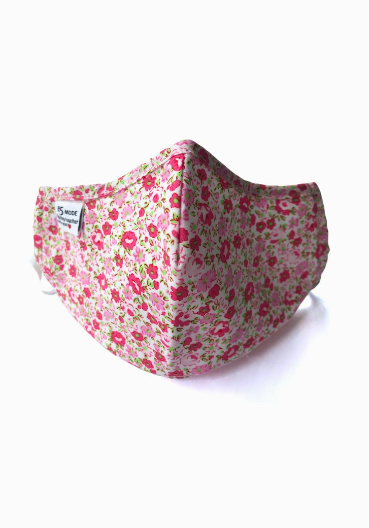 Masque buccal en tissu - Imprimé à fleurs