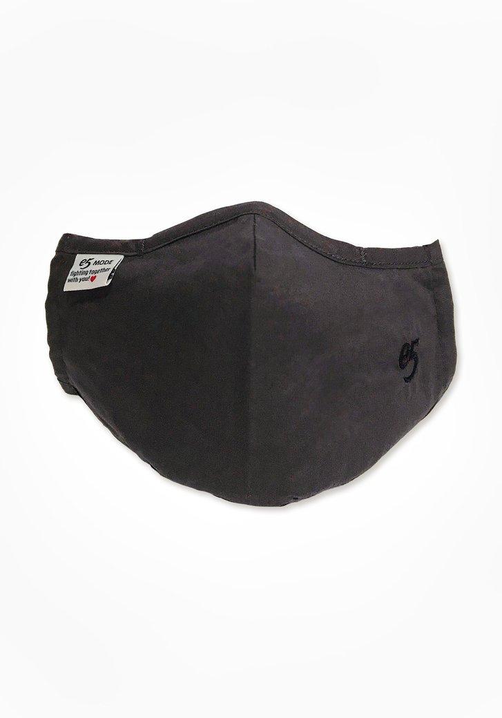 Masque buccal en tissu - noir