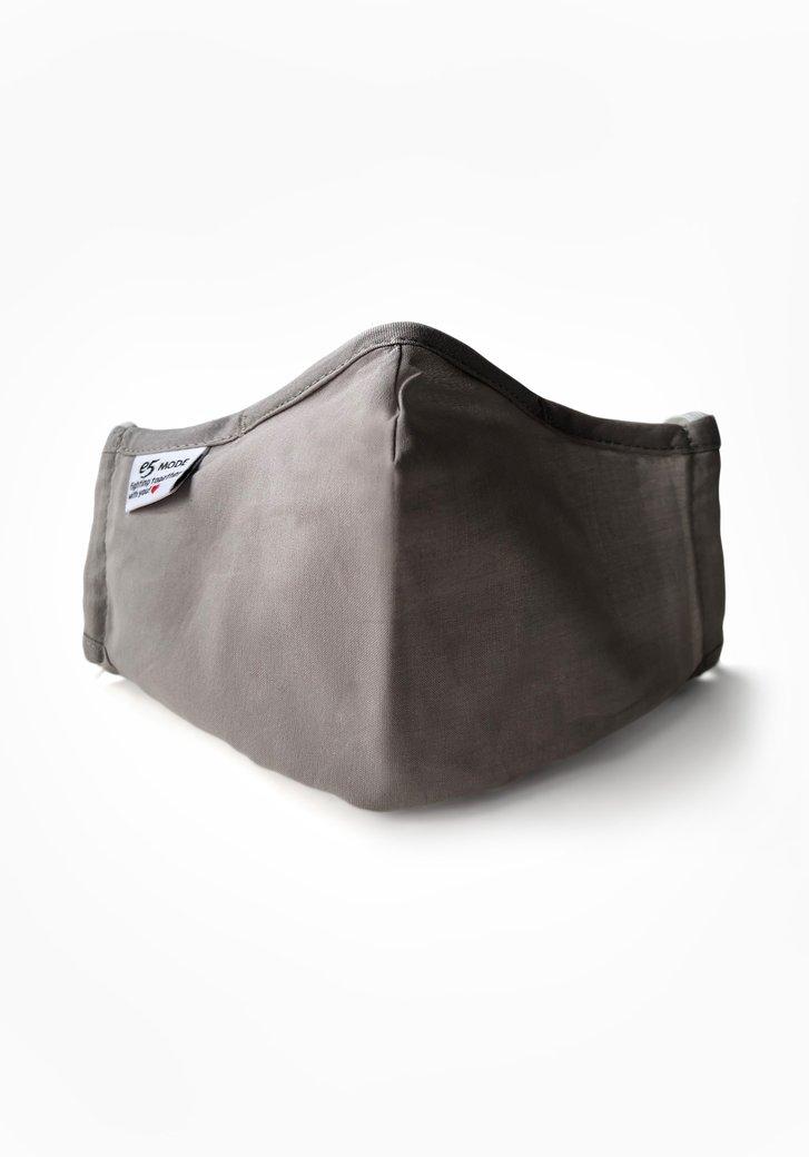 Masque buccal en tissu réutilisable - gris clair