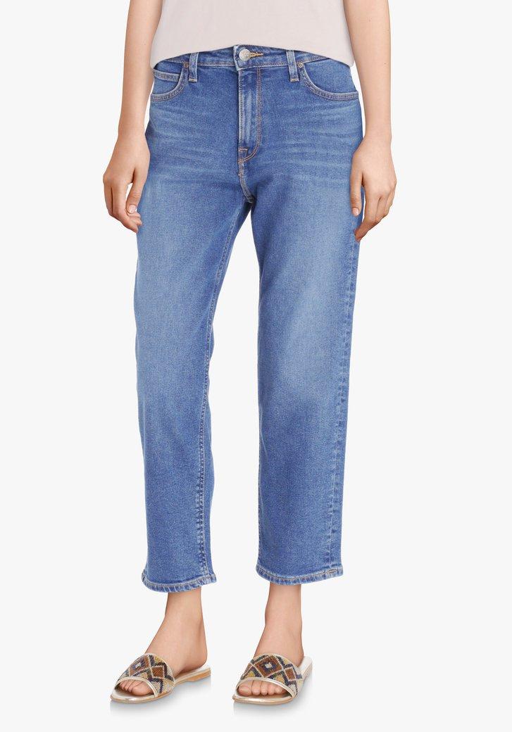Mediumblauwe jeans - Carol - mom fit - L31