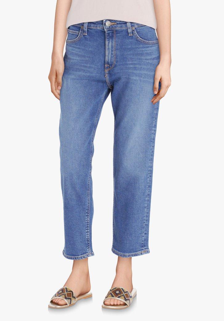 Mediumblauwe jeans - Carol - mom fit - L33